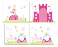 Speelgordijn Princess Pino halfhoogslaper-Vooraanzicht
