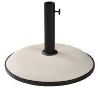 Parasolvoet beton 25 kg  wit