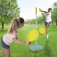 Mookie speelset 3-in-1 swingball, soccer swingball & tailball-Afbeelding 1
