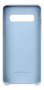 Samsung coque Silicone Cover pour Galaxy S10 blanc-Avant