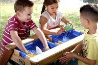 AXI table de pique-nique pour enfants Nick Sable et Eau avec parasol-Image 3