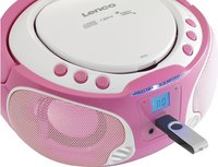 Lenco draagbare radio/cd-speler SCD 650 roze-Afbeelding 4