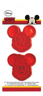 Scrap Cooking Stempel-/uitsteekset Mickey & Minnie-Vooraanzicht
