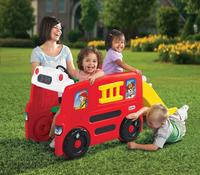 Little Tikes aire de jeu Camion de pompiers-Image 3