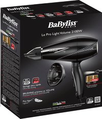 BaByliss sèche-cheveux Pro Light Volume 6610DE-Avant