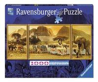 Ravensburger puzzel Triptychon Onderweg in Afrika