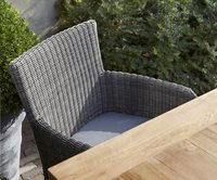 Fauteuil de jardin Padova gris clair-Détail de l'article