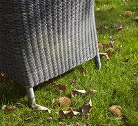 Fauteuil de jardin Padova gris clair-Image 1