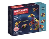 Magformers Creator Designer Set 62 pièces-Côté gauche