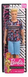 Barbie poupée mannequin  Ken Fashionistas Original 118 - Hyper Print-Avant