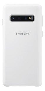 Samsung coque Silicone Cover pour Galaxy S10 blanc-Arrière