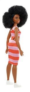Barbie poupée mannequin  Fashionistas Curvy 105 - Bold Stripes-Arrière