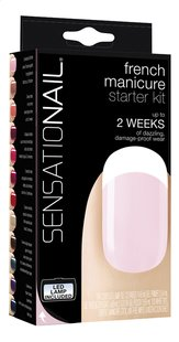SensatioNail kit de départ French Manicure-Avant