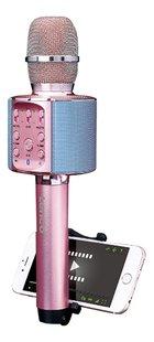 Lenco micro Bluetooth et lumières rose-Détail de l'article