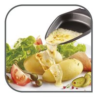 Tefal Grill-raclette Colormania RE12A512 rood-Afbeelding 1
