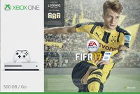 XBOX One S 500 GB + Fifa 17 met Fifa Legends