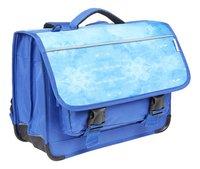 Kangourou boekentas Painted Blue 39 cm-Linkerzijde