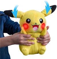 Tomy knuffel Pokémon My Friends Pikachu 30 cm-Afbeelding 2
