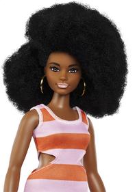 Barbie poupée mannequin  Fashionistas Curvy 105 - Bold Stripes-Détail de l'article