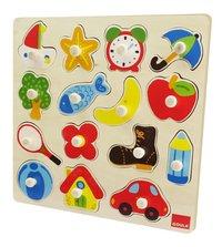 Goula puzzle à boutons Silhouettes-Côté droit
