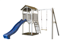 Sunny schommel met speeltoren Beach Tower-Rechterzijde