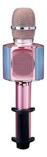 Lenco micro Bluetooth et lumières rose-Avant