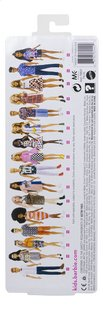 Barbie mannequinpop Fashionistas Petite 103 - Tone Graphic Dress-Achteraanzicht