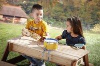 AXI table de pique-nique pour enfants Nick Sable et Eau avec parasol-Image 5