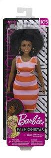 Barbie poupée mannequin  Fashionistas Curvy 105 - Bold Stripes-Avant