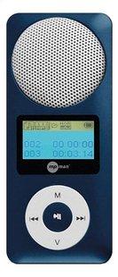 mpman mp3-speler Fiesta 2 2 GB blauw