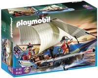 Playmobil Pirates 5140 Britse kanonboot