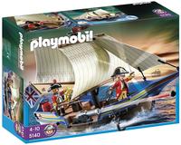 Playmobil Pirates 5140 Navire des soldats britanniques-Avant