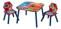 Table avec 2 chaises pour enfants Pat' Patrouille-Côté droit