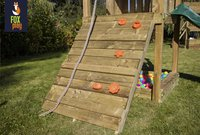 Fox play portique Sacramento Monkey Bar Adventure avec toboggan jaune-Image 2