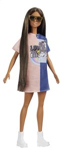 Barbie mannequinpop Fashionistas Petite 103 - Tone Graphic Dress-Artikeldetail