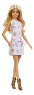 Barbie poupée mannequin  Fashionistas Original 119 - Pink Dress and Boots-commercieel beeld