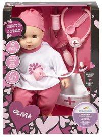 DreamLand zachte pop Olivia met doktersset-Vooraanzicht