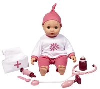 DreamLand poupée souple Olivia avec set de docteur