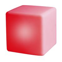 Éclairage LED-cube/siège rechargeable avec haut-parleur Bluetooth blanc 40 cm-Détail de l'article