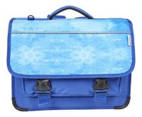 Kangourou boekentas Painted Blue 39 cm-Vooraanzicht