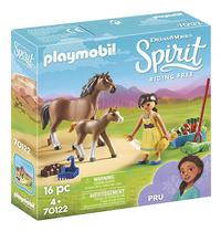 PLAYMOBIL Spirit 70122 Apo avec cheval et poulain-commercieel beeld