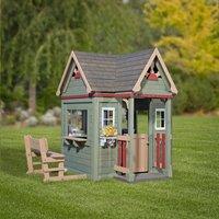 Goede Backyard Discovery houten speelhuisje Victorian Inn - Koop nu aan XI-01