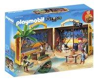 PLAYMOBIL Pirates 70150 Meeneem pirateneiland-Linkerzijde