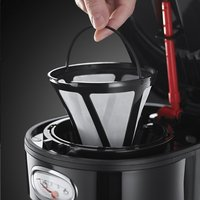 Russell Hobbs Percolateur Retro Noir Classic-Image 2