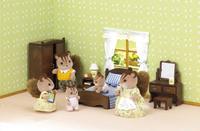 Sylvanian Families 5039 - Ouderslaapkamerset-Afbeelding 1