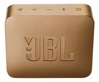JBL bluetooth luidspreker GO 2 champagne-Achteraanzicht