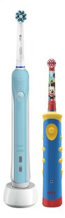 Oral-B 2 tandenborstels Family: PRO 700 + Stages Power Kids  PRO 700-commercieel beeld