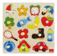 Goula puzzle à boutons Silhouettes