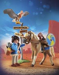 PLAYMOBIL The Movie 70072 Marla avec cheval-Image 1