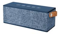 Fresh 'n Rebel luidspreker bluetooth Rockbox Brick Fabric Edition blauw